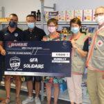 L'épicerie solidaire Jeanne Burdin a reçu son chèque